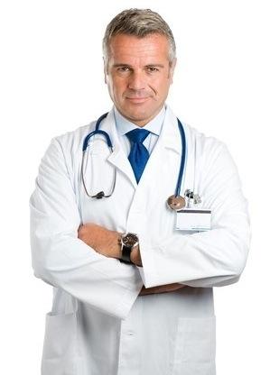 A male gastroenterologist