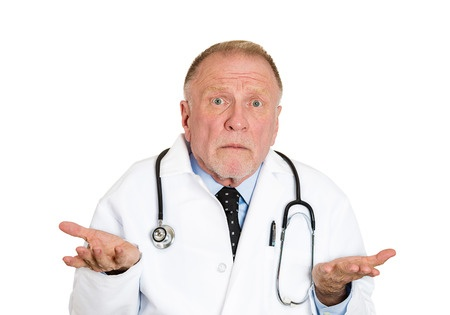 A male gastroenterologist who doesn't know how to help