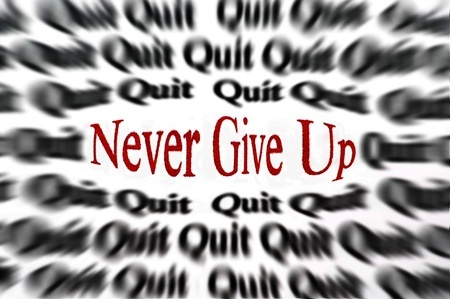 Never give up hope of getting better